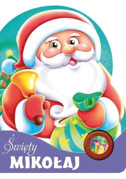 Święty Mikołaj Książeczka z przyciskiem dźwiękowym