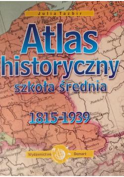 Atlas historyczny szkoła średnia  1815  1939