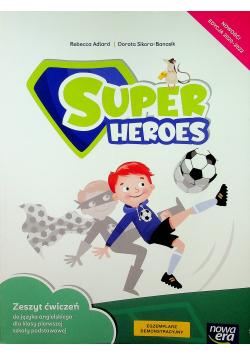 Super Heroes zeszyt ćwiczeń do języka angielskiego