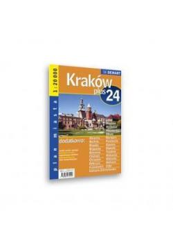Plan Miasta Kraków + 24 Miasta 1:20 000 DEMART