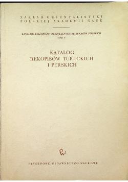 Katalog Rękopisów Tureckich i Perskich