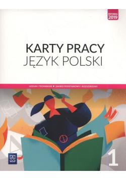 Język polski 1 Karty pracy Zakres podstawowy i rozszerzony