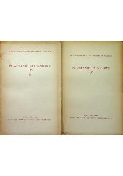 Powstanie Styczniowe 1863 Tom I i II