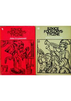 Szkice folklorystyczne tom I i II