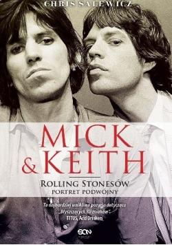 Mick Keith Rolling Stonesów portret podwójny