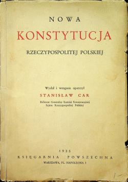 Nowa Konstytucja Rzeczypospolitej Polskiej 1935 r