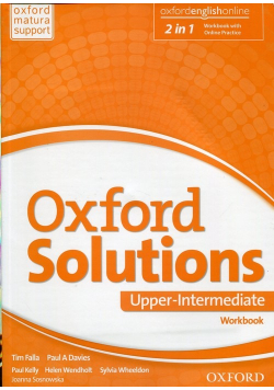 Oxford Solutions Upper Intermediate Ćwiczenia