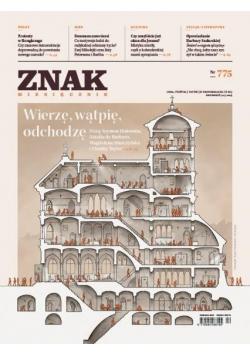 Miesięcznik Znak 775 12/2019 Wierzę, wątpię..