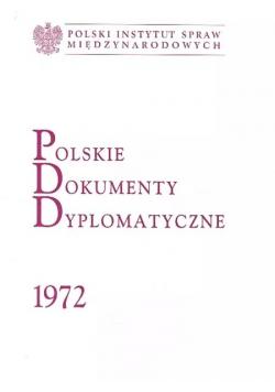 Polskie dokumenty dyplomatyczne 1972