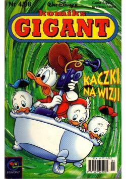 Komiks Gigant Nr 4 Kaczki na wizji