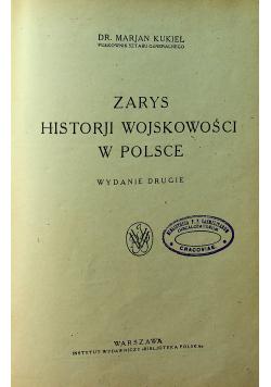 Zarys Historji Wojskowości w Polsce 1923 r