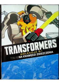 Transformers Tom 18 Na krawędzi zniszczenia