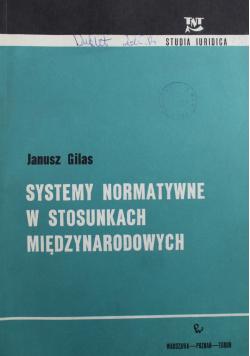 Systemy normatywne w stosunkach międzynarodowych
