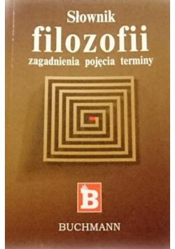 Słownik filozofii zagadnienia pojęcia terminy