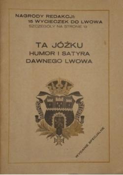 Ta Jóźku humor i satyra dawnego Lwowa