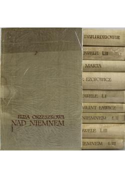 Orzeszkowa Dzieła wybrane 10 tomów