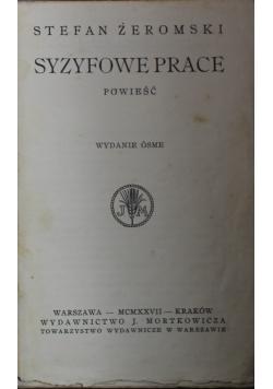Syzyfowe prace 1927 r