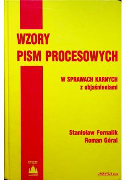 Wzory pism procesowych