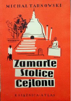 Zamarłe stolice Cejlonu 1934 r.