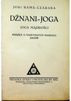 Dżnani joga ok 1932 r.
