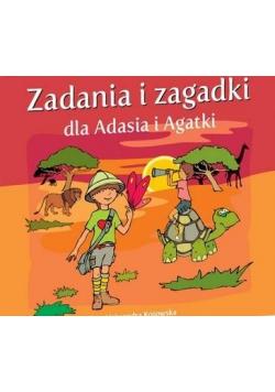 Zadania i zagadki dla Adasia i Agatki