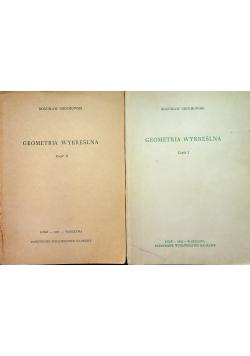 Geometria wykreślna tom I i II