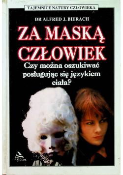 Za maską człowiek