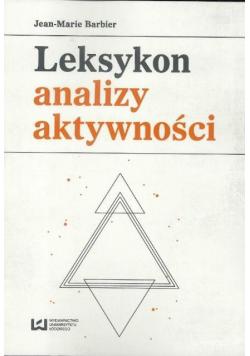 Leksykon analizy aktywności