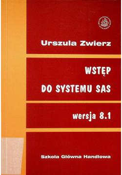 Wstęp do systemu SAS wersja 8 1