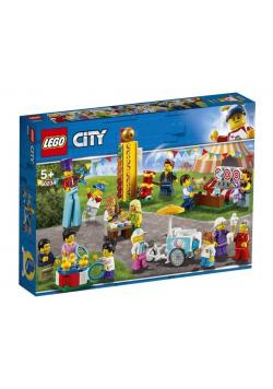 Lego CITY 60234 Wesołe miasteczko minifigurki