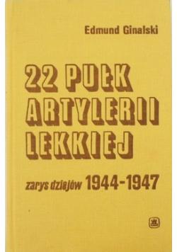 22 Pułk Artylerii Lekkiej