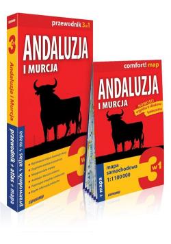 Andaluzja i Murcja 3w1 Przewodnik + atlas + mapa