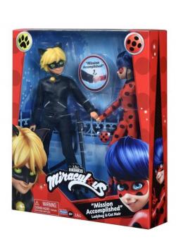 Miraculous: Biedronka i Czarny Kot figurki