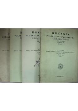 Rocznik polskiego towarzystwa geologicznego tom XXXVI 4 zeszyty