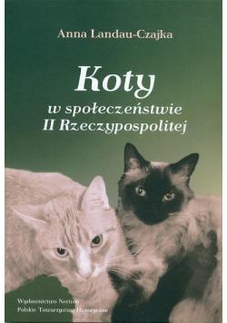 Koty w społeczeństwie II Rzeczypospolitej