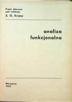 Analiza funkcjonalna