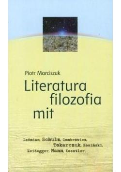 Literatura filozofia mit
