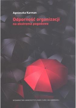 Odporność organizacji na ekstrema pogodowe