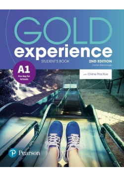 Gold Experience 2ed A1 SB + online PEARSON
