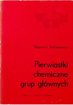 Pierwiastki chemiczne grup głównych
