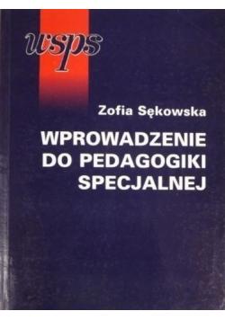 Wprowadzenie do pedagogiki specjalnej