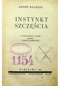 Instynkt szczęścia 1935 r.