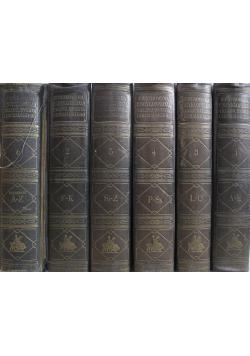 Ilustrowana encyklopedja  6 tomów 1928 r.