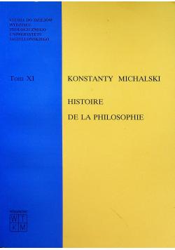 HISTORIE DE LA PHILOSOPHIE DE SOCRATE tom XI