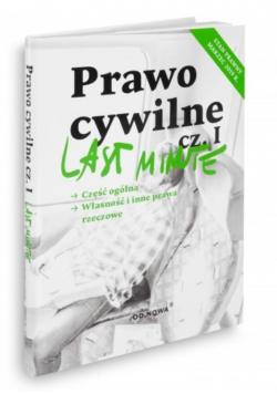 Last Minute. Prawo cywilne 03.2019