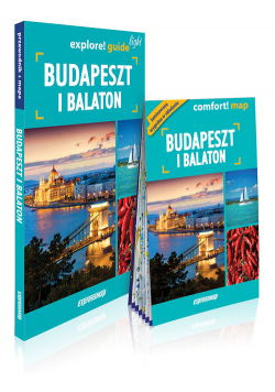 Budapeszt i Balaton light przewodnik + mapa