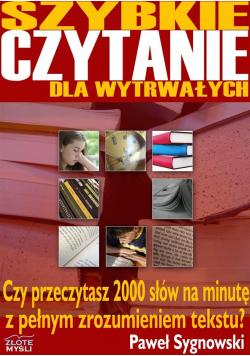 Szybkie czytanie dla wytrwałych