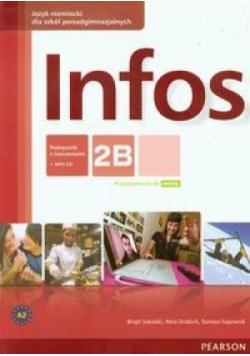 Infos 2B podręcznik z ćwiczeniami plus CD PEARSON