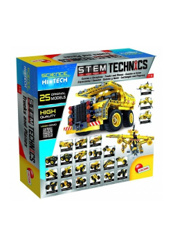 Hi Tech Stem Technics Ciężarówki i samoloty 25 w 1