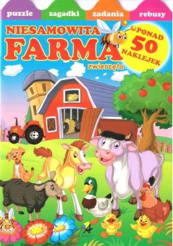 Niesamowita farma. Naklejki i zabawy w.2019